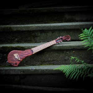 Solid body electric ukulele by DaShtick guitars